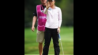 Lydia Ko - Full Putting Routine (Oct 24, 2015) w/AimPoint Express