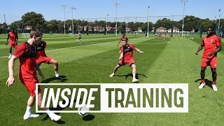 Inside Training: Flicks, tricks and skills in ruthless rondos | Plus more exclusive access