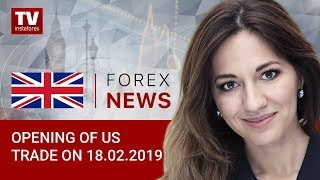 InstaForex tv news: 18.02.2019: Europe closely follows US-China talks (EUR, USD, DJIA)