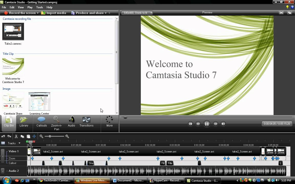 camtasia 2018 free trial download