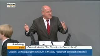 """Generaldebatte """"Zur Situation in Deutschland"""": Gregor Gysi (Die Linke) am 03.09.2013"""