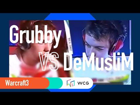 2007 Grand Final second day: WarCraft 3 07 match: Grubby vs DeMusliM