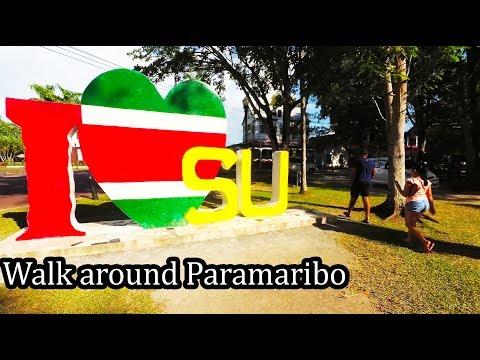 (3) Suriname 2017 -  Walking Around Paramaribo - September