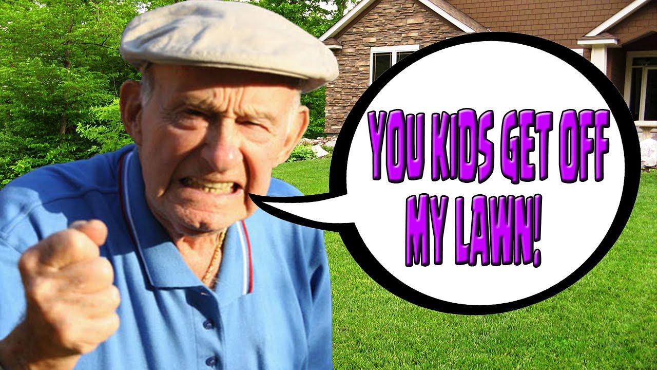 Kids Get Off My Lawn