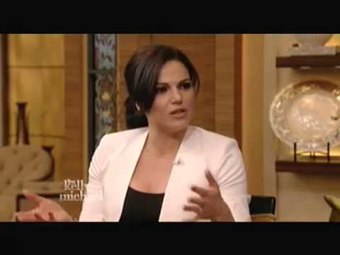 Lana Parrilla on Live with Kelly and Michael - 27.02.2015