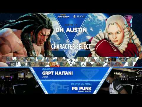SFV: GRPT Haitani vs PG Punk - Dreamhack Austin 2017 Grand Finals - CPT2017