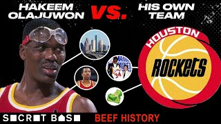 Hakeem Olajuwon and the Rockets beefed so hard he almost left Houston before they ever got a ring