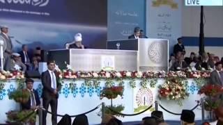 Lord Tariq Ahmad, Minister for Communities UK at Jalsa Salana UK 2014