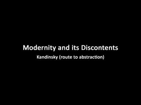 A history of modern art in 73 lectures: lecture 32 (Kandinsky)