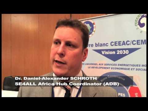 Dr. Daniel-Alexander SCHROTH SE4ALL Africa Hub Coordinator (African Development Bank)