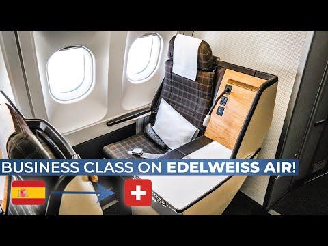 TRIPREPORT | Edelweiss Air (BUSINESS CLASS) | Airbus A340-300 | Palma De Mallorca - Zurich