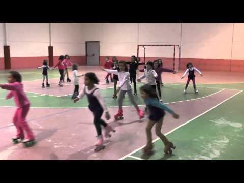 Patinaje artístico. Escuela Municipal de Deportes. Jerez de los Caballeros