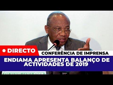 ENDIAMA Apresenta Balanço De Actividades De 2019 | CONFERÊNCIA DE IMPRENSA