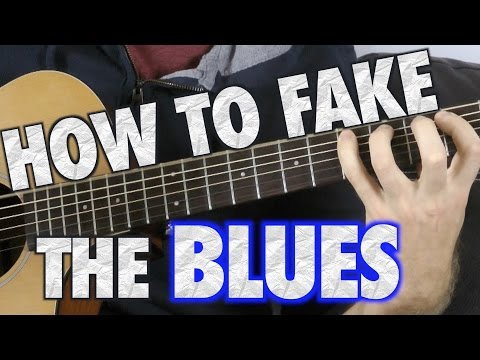 How to Fake a Blues Guitar Solo