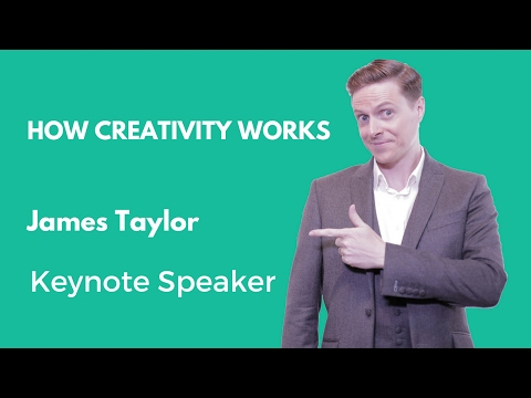 How Creativity Works | Keynote speaker James Taylor @ World Intellectual Property Day