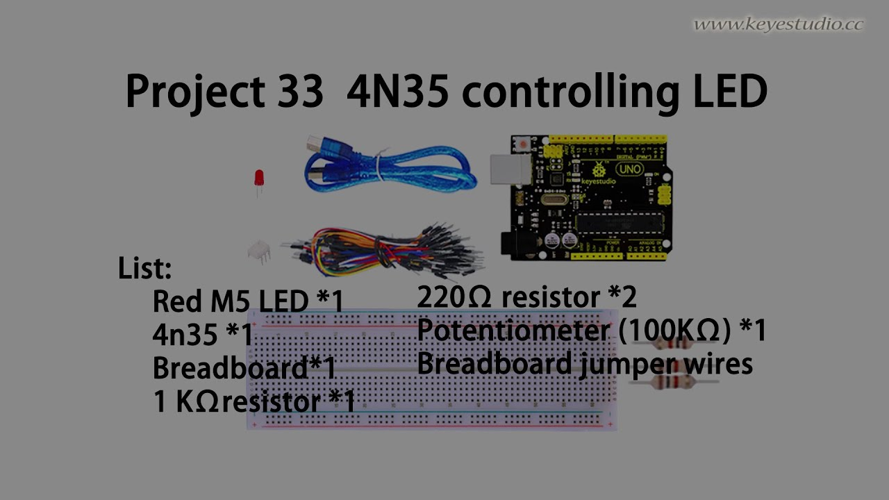 4n35 Circuit Application Best Electrical Wiring Diagram Optoisolatorcircuits Opto Isolator Image Controlling Led Youtube Circuits Optocoupler