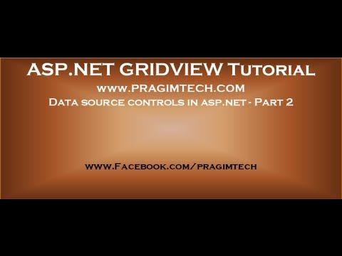 Data source controls in asp net   Part 2