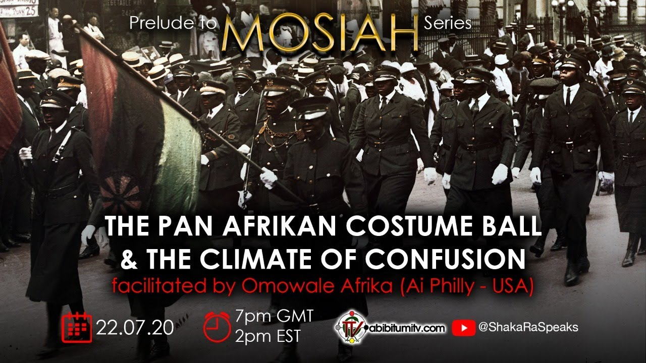 The Pan Afrikan Costume Ball & the Climate of Confusion