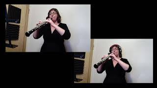 Telemann - Canonic Sonata No1 - 3rd movement - Allegro. Oboe - Rachel Broadbent