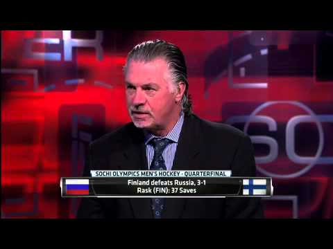 Rask, Finland Oust Russia In Quarterfinals