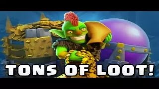 Clash of Clans -Loot # 5 Insane loot!!!! 1Millionen Loot!!😱😱