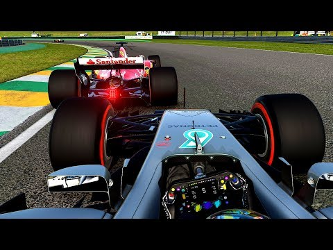 CHAMPIONSHIP GETTING EVER CLOSER - F1 2017 Career Mode Part 139