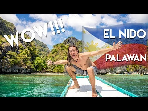 BEAUTIFUL PLACES TO SEE IN EL NIDO , PALAWAN - Philippines Travel Vlog Ep6 Island hopping boat tour