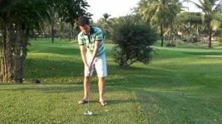 www.Khusainov.com Урок гольфа от Михаила Хусаинова.