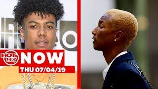 Blueface Releases Footage Of The Dispute  & Calls Out Fans + Pharrell Does A Great Deed