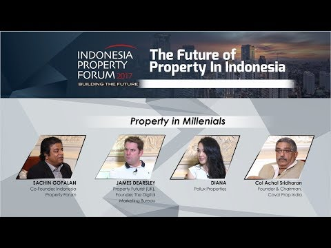 Indonesia Property Forum | Property in Millenials - Mini Tal