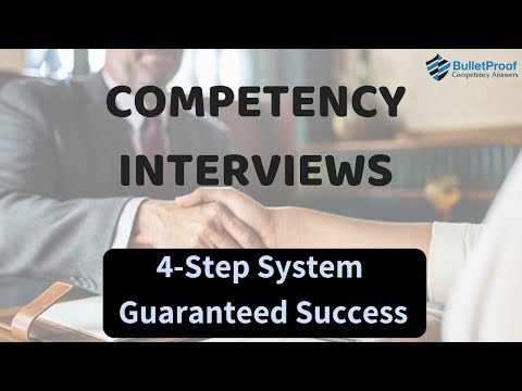 Competency Based Interviews - 100% Pass Guaranteed