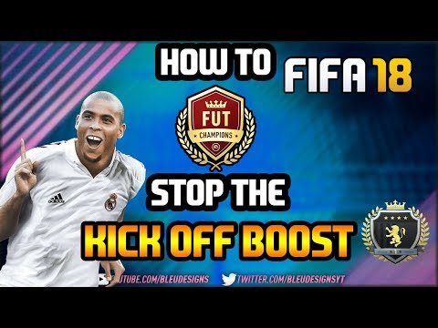 FIFA 18 | HOW TO STOP THE KICK OFF BOOST/GLITCH | HOW TO DEFEND FROM KICK OFF | STOP CONCEDING GOALS