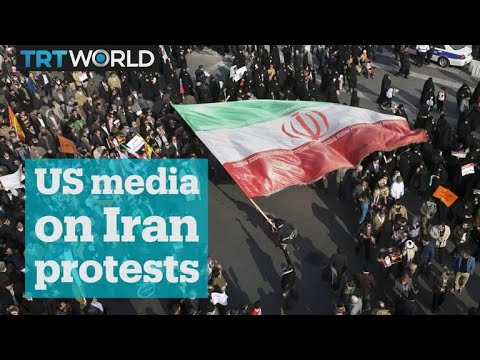 Did US media outlets 'sensationalise' Iran's protests?