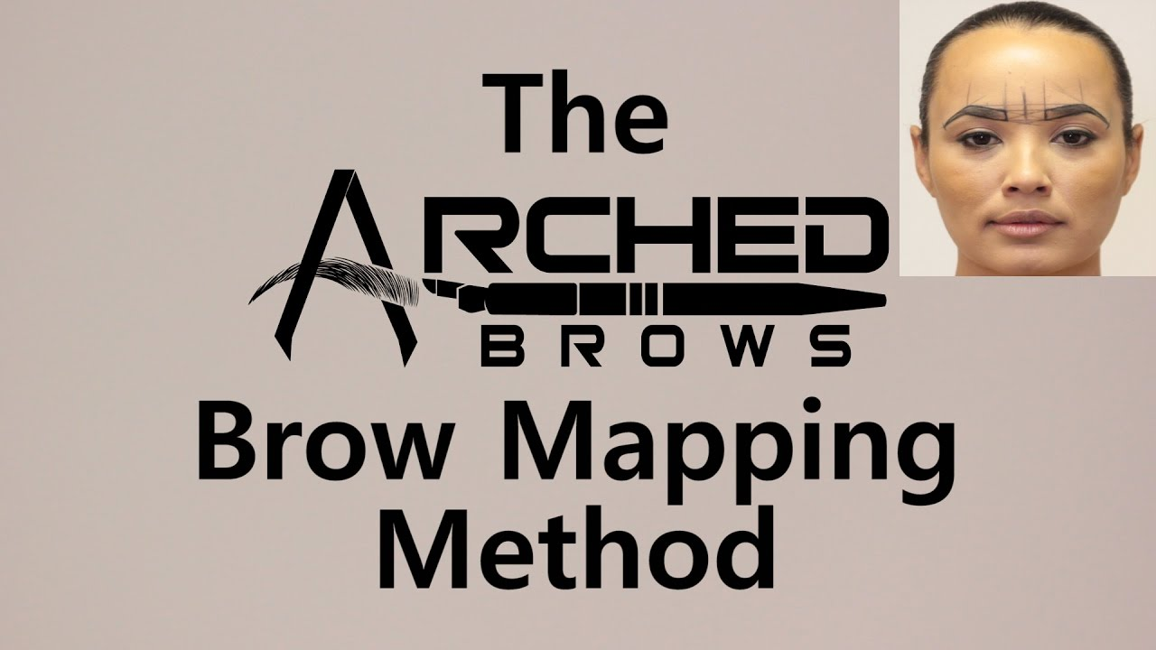 The Arched Brows Brow Mapping Method - YouTube
