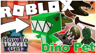 HOW TO GET THE DINO PET + ALL ARTIFACTS IN EXTINCTION IN TIME TRAVEL ADVENTURES! [ROBLOX]