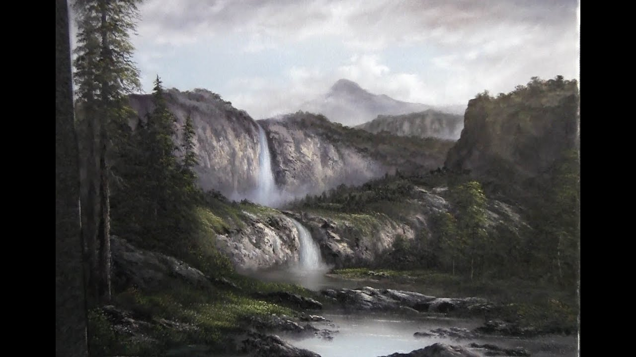 Oil Painting Mountains Techniques