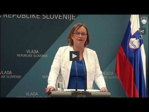 Izjava ministrice za finance po 183. redni seji vlade