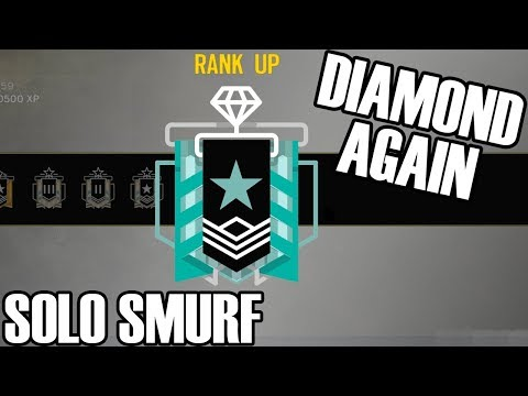 Solo Smurf: Redemption Diamond - Rainbow Six Siege