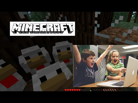 Kids Only Gaming MINECRAFT Katelyn Journey (EP.1) (PC Computer Series for Beginners & Children)