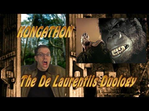 King Kong 1976 King Kong Lives 1986 Movie s  Cinemassacre's Kongathon