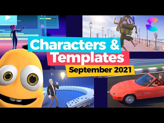 ✅ 45+ Awesome CreateStudio New Characters & Templates Sept 2021 | Best Video Animation Software