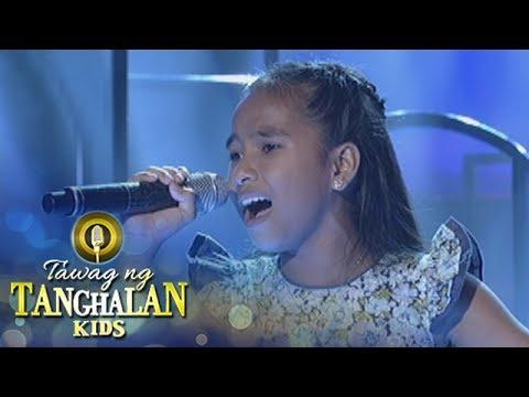 Tawag ng Tanghalan Kids: Mydia Mabascog | Hanggang May Kailanman