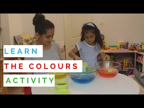 Learn Colours for Preschoolers| Colour Learning Activity for Kids|Mommy on the Go