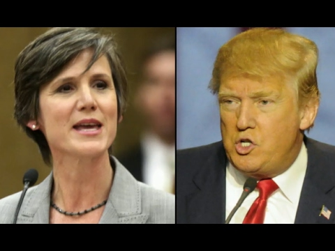 Trump Fires Acting US Attorney General Sally Yates Over Immigration Order | ABC News