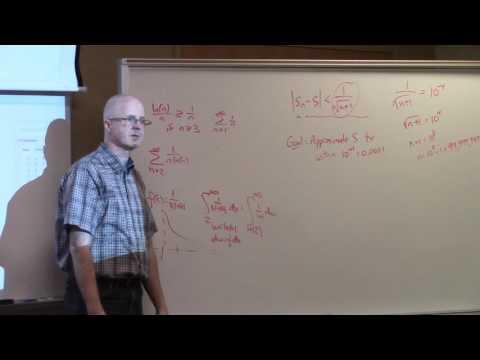 Calculus 2, Lec 25B, Alternating Series Error Estimate, Power Series, Interval of Convergence