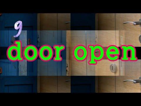 door open sound effects collection (9) 효과음139