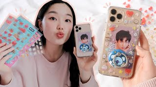 decorate my phone case with me! + what's on my iphone 11 pro