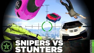 Let's Play: GTA V - Snipers VS Stunters 2