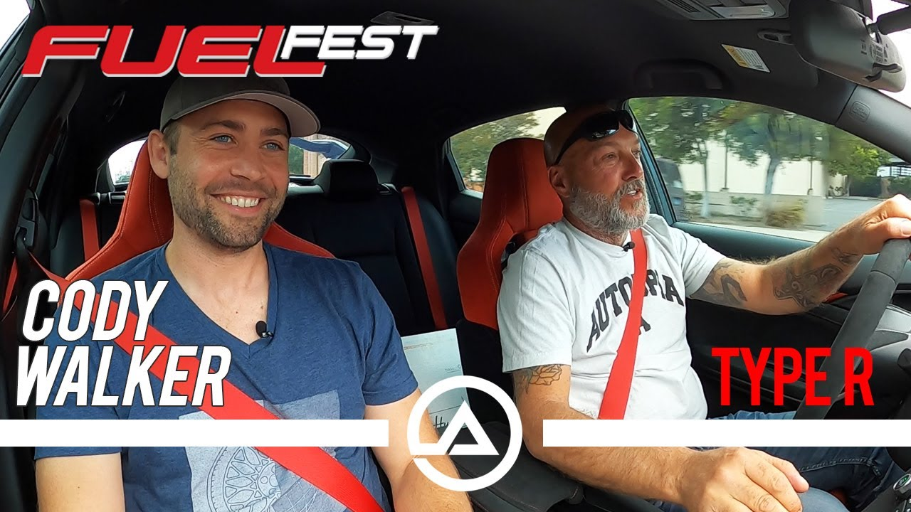 Cody Walker FuelFest and His Honda Type R on HRE's