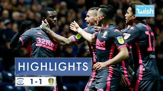 Highlights | Preston North End 1-1 Leeds United | 2019/20 EFL Championship